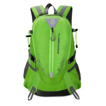 Fashion Waterproof Outdoor Sports Shoulder Bag Travel Backpack(Green)