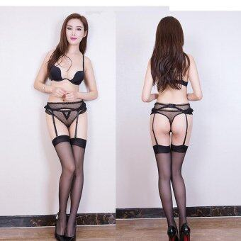 Harga Sketis Brand Premium Quality Sexy Lingerie sets, Garter with stocking and Underwear