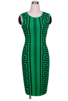Harga Midi Dress (Green)