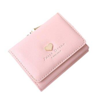 Harga Women Lady Leather Clutch Short Wallet Card Holder Purse Handbag Bag - intl