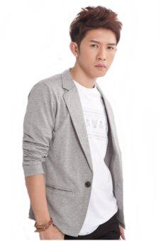 Harga ChannyLin Korea Jacket - Light Grey