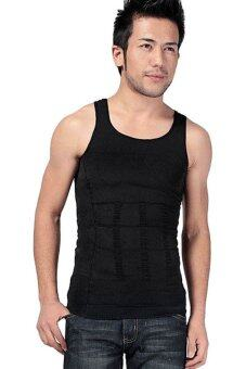 Harga Hequ Man Fitness Slim Vest (Black)