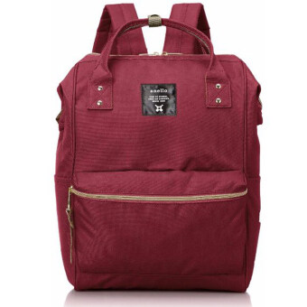 Harga ANELLO CLASSIC POLYESTER CANVAS RUCKSACK (WINE)