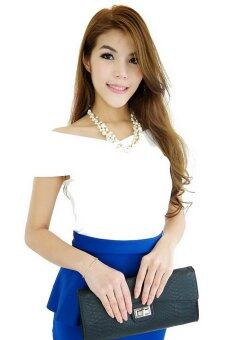 Harga Joly Butterfly Top - White