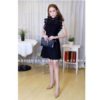 Harga NINA GRIFFON DRESS (Black)