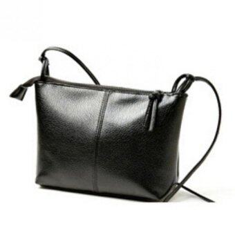 Harga Fashion PU Leather Messenger Crossbody Lady Shoulder Bag Satchel Handbag Tote CA (Intl) - Intl