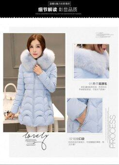 Harga Winter coat women's winter coat women's long section of thick cotton - intl