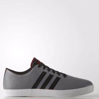 Harga Adidas NEO MEN EASY VULC VS GREY/CBLACK/POWRED