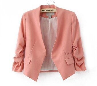 Harga Fashion Slim Candy Color Blazer