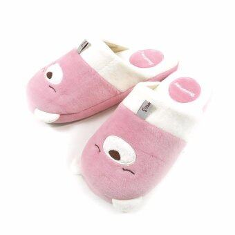 Harga Snoooozy animal character slippers(Bear_pink) - intl