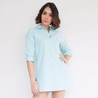 Harga Breeze72 Dress Muse -- Green
