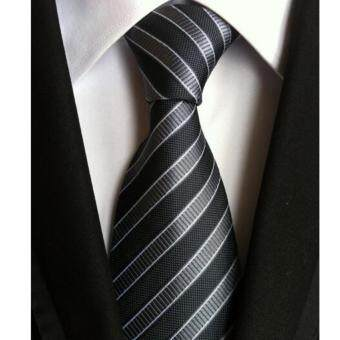 Harga TW-01 New Style Men's Business&Party Good Quality Tie Black - intl