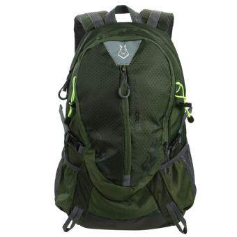 Harga Fashion Waterproof Outdoor Sports Shoulder Bag Travel Backpack (Army Green)