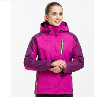 Harga Women Casual Waterproof Windbreaker Outwear High Quality Spring & Autumn Women Coats and Jacket Male Casual Tourism Coat - intl