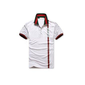 Harga Manufacturers Selling Foreign Brand Men's POLO SHIRT MENS Polo T-shirt Aliexpress Hot Explosion Models - intl
