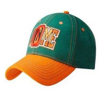Harga New style John Felix Anthony Cena Hats Fashion sport Caps Unisex(Green and orange )