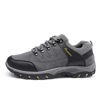 Harga Might&Sight Flat Sports Outdoors Hiking Shoes 30(Grey) - intl