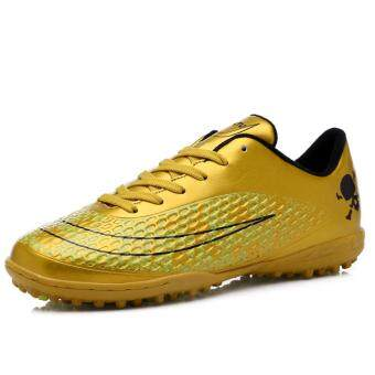 Harga Might&Sight Men's Outdoor Recreation Soccer Shoes 55(Gold) -intl