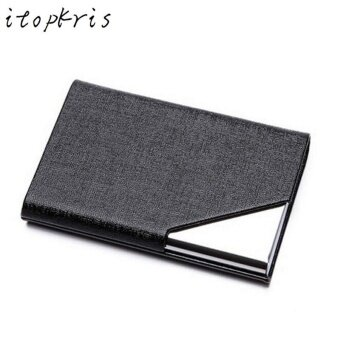 RFID Blocking Business Card Holder Case Aluminum Wallet Money ClipProtector Case Kes Pemegang Kad kredit dompet (25PCS Business Card)- intl