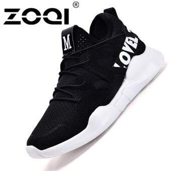 Harga ZOQI Women's Fashion Jelly Sneaker Sport Shoes (Black) - intl