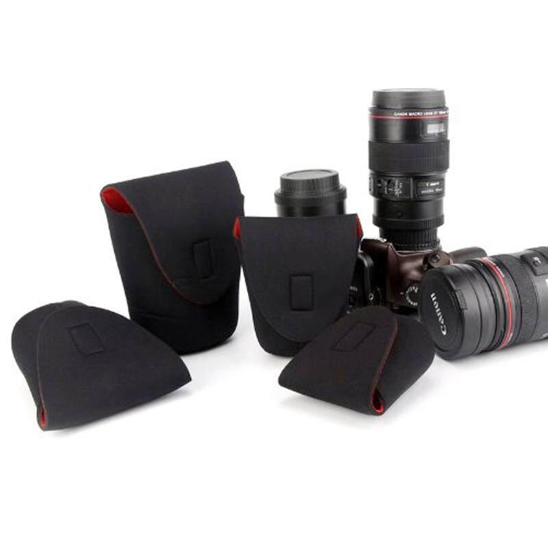 Lens Soft Protector Pouch Bag Case NV-H8 (S, M, L, XL, XXL) กระเป๋าใส่เลนส์ ถุงใส่เลนส์