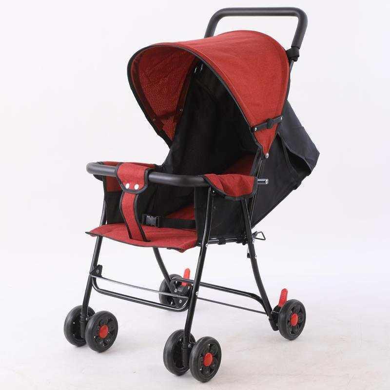 รถเข็นเด็ก ปรับได้ 3 ระดับ น้ำหนักเบา รองรับหนัก (นั่ง/เอน/นอน) ( ใช้ได้ตั้งแต่แรกเกิด ).