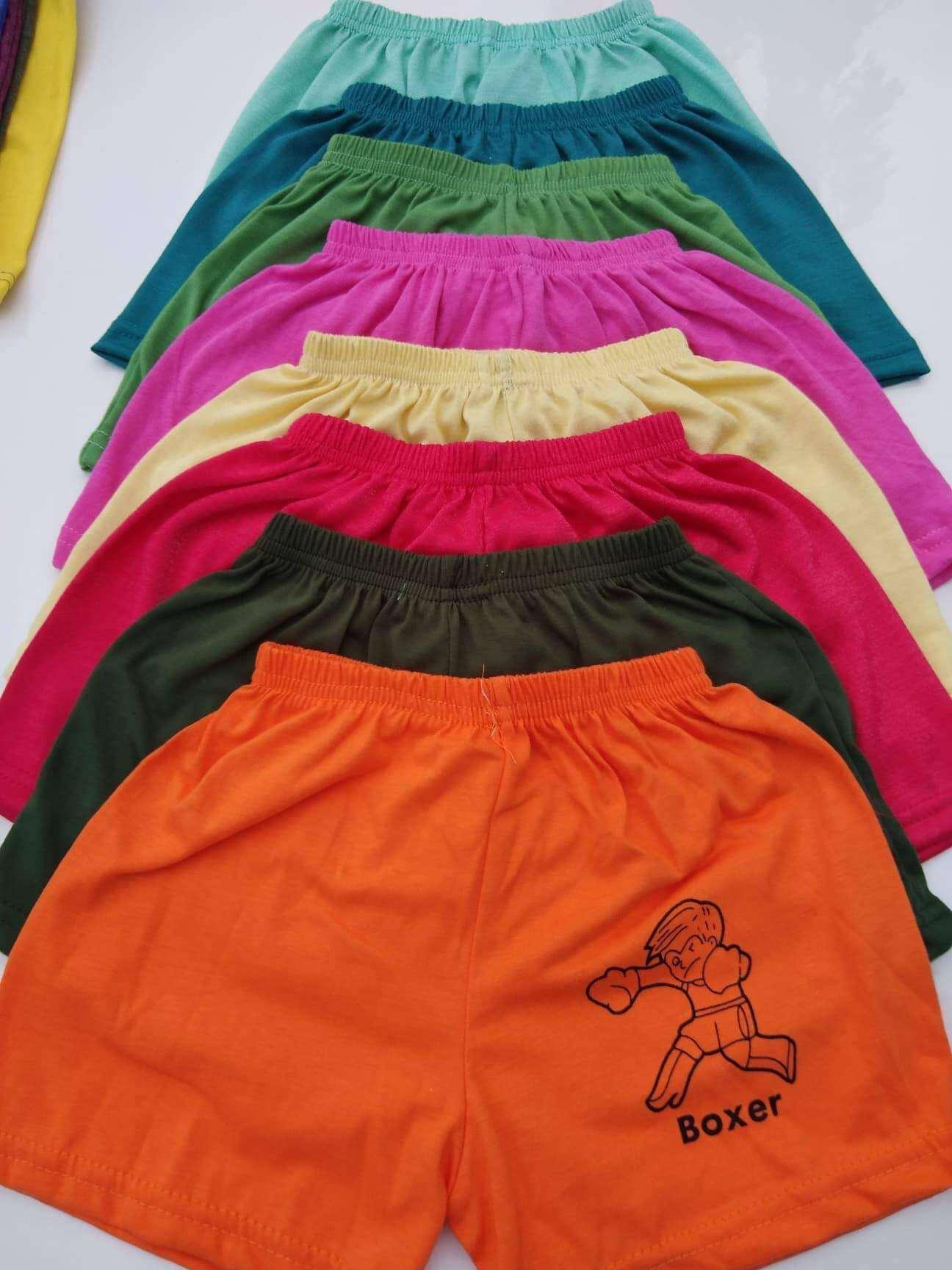 กางเกงขาสั้นเด็ก2เดือน-10ขวบ คละสี คละลาย.