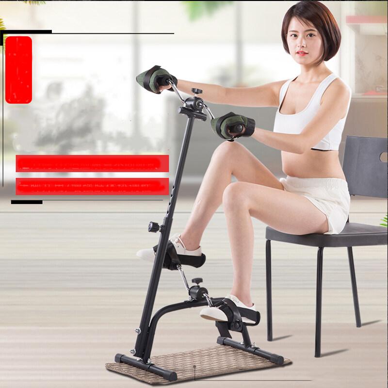 จักรยานออกกำลังกายแบบพับ* จักรยานกายภาพบำบัด อุปกรณ์สร้างกล้ามเนื้อ จักรยานกายภาพบำบัด จักรยานมือปั่นเท้าปั่น จักรยานลดน้ำหนักขา น่อง จักรยานสำหรับกายภาพบำบัด จักรยานมินิ เครื่องปั่นจักรยานออกกำลังกาย เครื่องออกกำลังกาย.