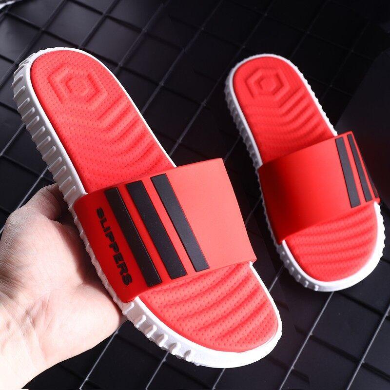 ใหม่2020 !!!WMTshop รองเท้าแตะผู้ชายฤดูร้อนสไตล์เกาหลี
