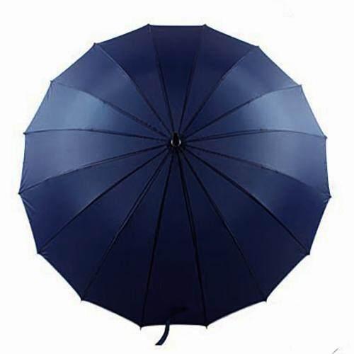 BGG 30'' 16 Ribs UV Cut Windproof Big Size Walking Umbrella (WA1006)