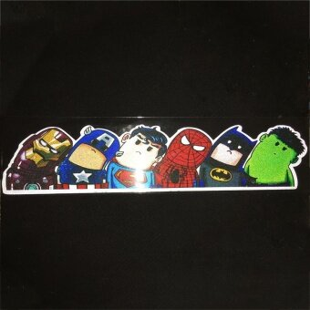1PCs The Avengers Car Truck Window Windshield Sticker DIY WrapUniversal - intl