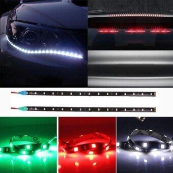 2017 Car Decor LED Light 6colors 30cm 5050 LED LED Flexible StripLight - intl