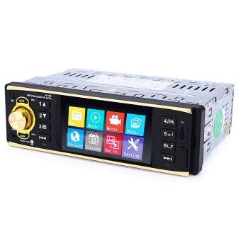 4019B 4.1 inch Vehicle-mounted MP5 Player Stereo Audio Car Video FMRadio with Camera Remote Control - intl