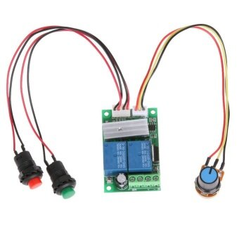 6V-24V 3A DC Motor Speed Control Controller PWM RegulatorReversible Switch - intl