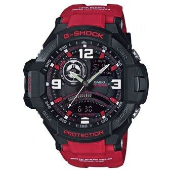 CASIO G-SHOCK นาฬิกา GA-1000-4BDR - Black/Red