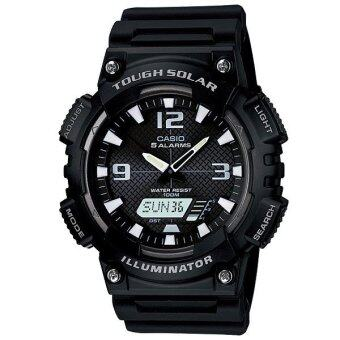 Casio Standard นาฬิกาข้อมือ รุ่น SOLAR POWER SPORT AQ-S810W-1AVDF -Black