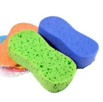 Convenient Auto Cleaning Tools Sponge Washing Seamless CleanningCar Wash Supply Yellow (Intl)