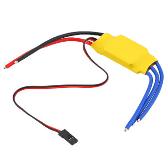 Fang Fang RC Helicopter 40A Brushless Motor Speed Controller(Yellow)