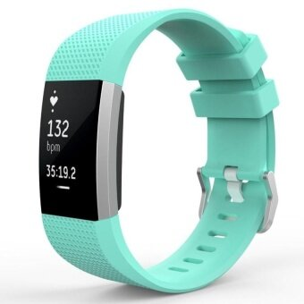 For Fitbit Charge 2 Bands,Special edition Replacement bands forFitbit Charge2 Mint Green S Size - intl