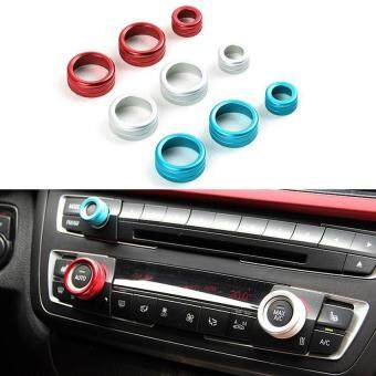 Harga LeadSea 3pcs Car Styling Aluminum Alloy Interior Air Conditioning KnobsTrim For BMW 2012 2013 2014 2015 3 7 Series F30 X5 X1 X6