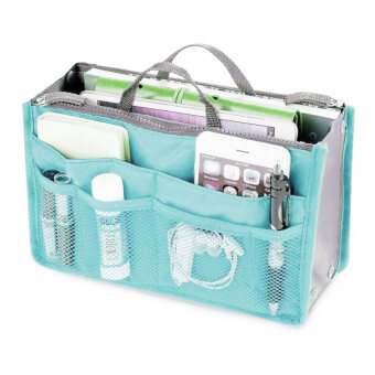 Harga PAlight Cosmetic Pouch Organizer Storage bag (Blue)