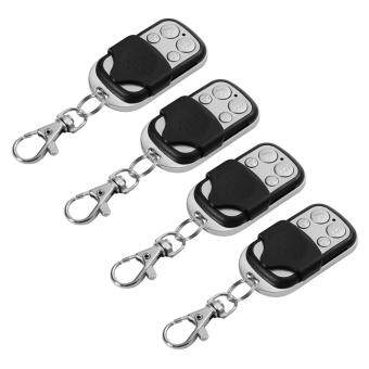 Harga 4pcs Universal Cloning Remote Control Key Fob for Car Garage Door Gate