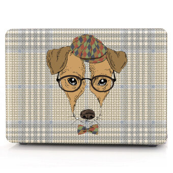"Harga HRH Dog with glasses Laptop Body Shell Protective Hard Case For Apple MacBook Pro 13.3"" WITH CD-ROM Drive (A1278) - Intl"