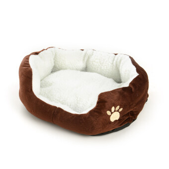 Harga New Arrival Pet Dog Puppy Cat Fleece Warm Bed Kennel Mat Cushion Pad Washable