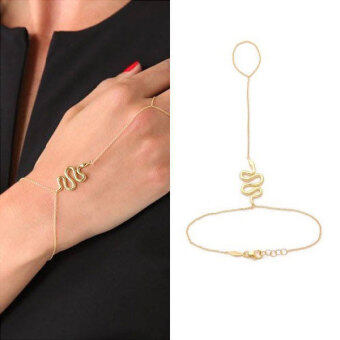 Harga Women Lady Classic Fashion Bracelet Snake Body chain Chic Jewelry Gift - intl