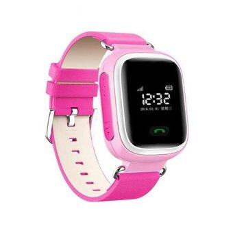 Harga Q60 Smart Watch Watches SOS Call Anti-lost Children for Android iOS iPhone Pink - intl