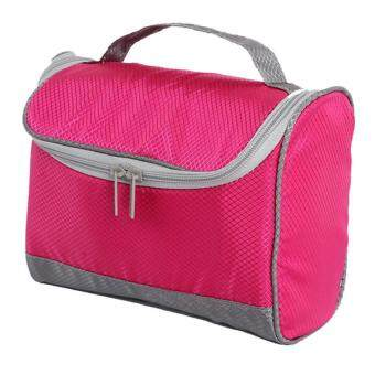 Harga Travel toiletry bags suit cosmetic wash bag (pink)