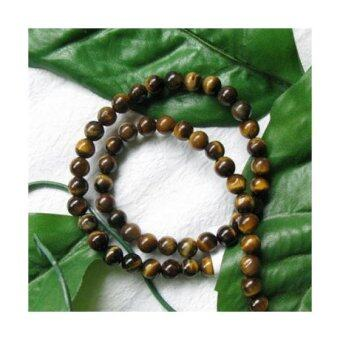 Harga Tiger Eye Round Gemstone Loose Beads Strand 6mm / 15.5 Inch