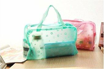 Harga Portable Cosmetic Travel Waterproof Storage Pouch Bag