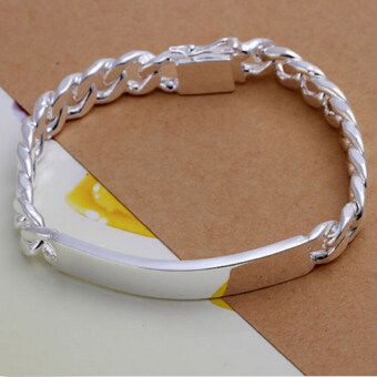 Harga Amango Women Fashion Bracelet Bangle Chic Silver